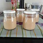 recette Pots de crème Batna