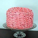 Gâteau froufrou pour l'anniversaire de ma fille