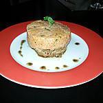 recette Steak haché et risotto à la tomate
