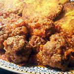 recette boulette kefta epicé en sauce