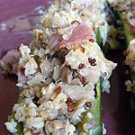 recette courgettes farcies aux champignons