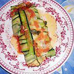 recette Filet d églefin en papilotte de courgette
