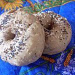recette Bagel de campagne aux graines sans lait ni oeuf
