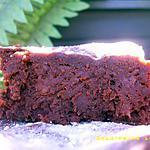 recette fondant allégé au chocolat noir et compote de pommes