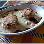 recette cassolettes de la mer au parfum de safran