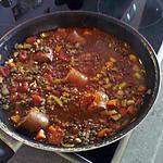 recette lentilles vertes du puy à la tomate