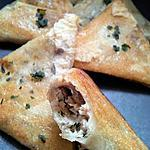 recette Bricks de sardines à l'orientale
