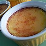 Les petites crémes aux oeufs vanillés caramelisé