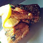Pavés de poisson panés