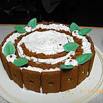 recette gâteau moka, spéculos