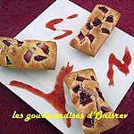 recette Mini cakes aux fruits rouges
