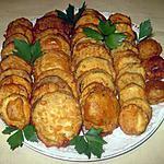 recette Beignets d'aubergines et de courgettes.