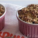recette crumble pommes et noisettes