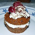 recette muffins en foret noire