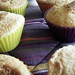 recette Muffins à la pâte de marsmallow
