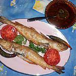 Merlan frit avec chermoula