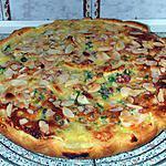 recette Tarte aux pommes et fruits confits