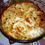 recette Gratin de pâtes savoyard (fromage à raclette)