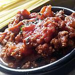 Sauce bolognaise minutes(cuisson au micro ondes)