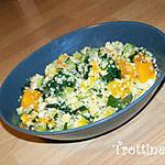recette Couscous de légumes à la feta