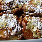 recette petits pains au chocolat fourrés à la créme d'amandes