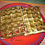 recette gaufres à la levure fraîche