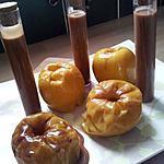 recette Pommes en robe des champs et sa sauce carambars