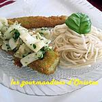 recette Seiche en barque de concombre
