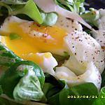 recette mâche aux oeufs (rapide et diététique)
