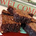 recette Brownies double chocolat (Nestle Toll House)