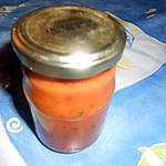 recette Purée de piment forte