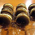 recette MACARONS CHOCOLAT FRUITS DE LA PASSION