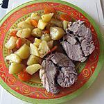 recette Rôti de veau en cocotte