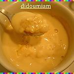 recette petites crèmes vanillées aux perle du Japon