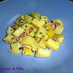 recette Pommes de terre au cidre et lardons