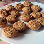 recette Mini cannelés jambon et petits suisse
