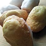 recette Madeleines au citron et son glaçage fondant