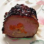 recette Filet de porc à la mélasse , farci à la Raclette d'ici