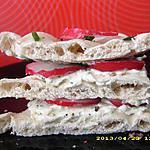 recette sandwiches suedois aux herbes et petits radis (diététique)