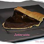 recette tarte chocolat carambar (facile)