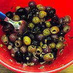 recette Tapas : olives au fenouil, cumin, et autres