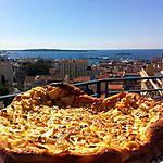 recette Clafoutis aux pommes amande et pépites de nougatine
