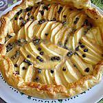 recette tarte aux pommes et aux pépites de chocolat