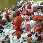 recette salade de riz au chorizo
