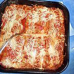 recette Cannelloni au boeuf haché