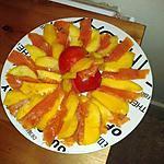 recette Mangues et saumon