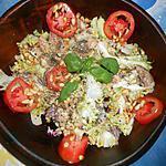 Salade frisée aux sardines