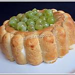 recette Charlotte letchis-raisins-mascarpone