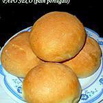 PAPO SECO (pain portugais)