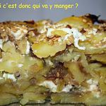 recette Gratin de pommes de terre au confit d'oignons sans gluten